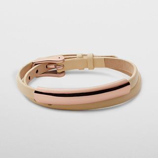Elin Leather Wrap Bracelet