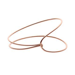 Anette Rose-Gold-Tone Wire Cuff Bracelet