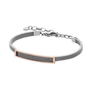 Merete Two-Tone Mesh Bracelet