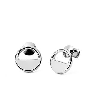 Elin Silver-Tone Stud Earrings
