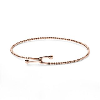 Anette Rose-Gold-Tone Hook Bracelet