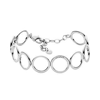 Elin Silver-Tone Crystal Bracelet