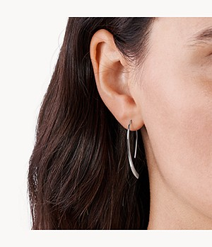 Elin Silver-Tone Threader Earrings
