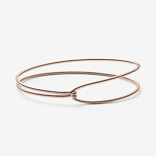 Anette Rose Gold-Tone Bangle