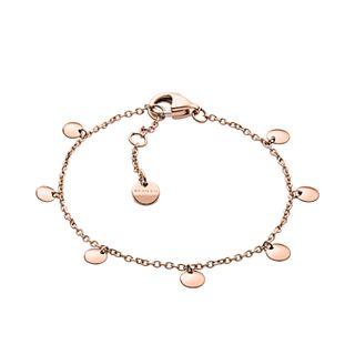 Anette Rose-Tone Charm Bracelet