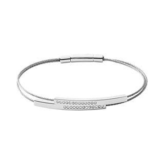 Elin Silver-Tone Wire Bracelet