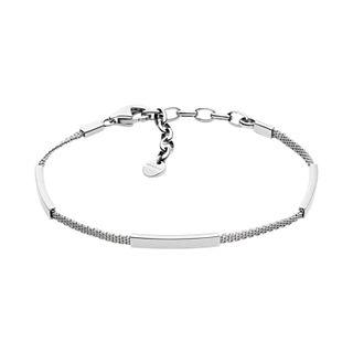 Merete Silver-Tone Mesh Bracelet