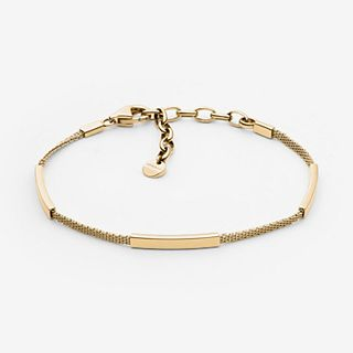Merete Gold-Tone Mesh Bracelet