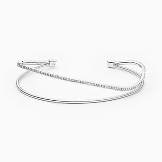 Kariana Silver-Tone Wire Bangle