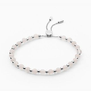 Anette Rose Quartz Beaded Bracelet