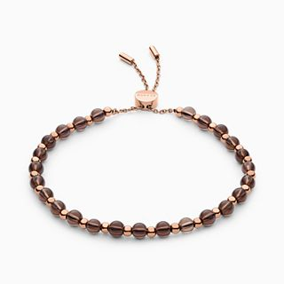 Anette Smoky Quartz Beaded Bracelet