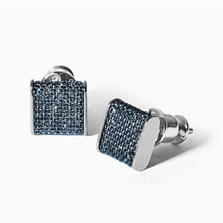 Merete Blue Glitz Earrings