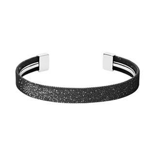Merete Black Glitz Bracelet