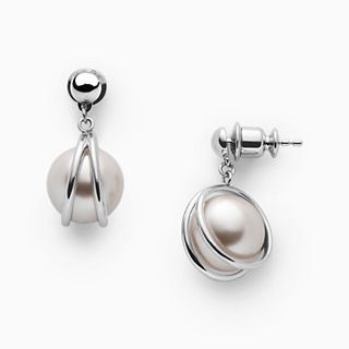Agnethe Faux Pearl Earrings