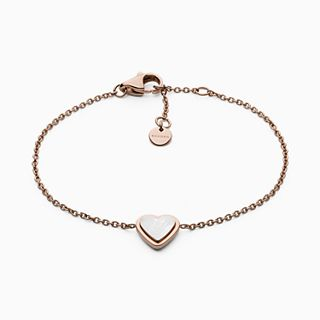 Katrine Rose-Tone Mother-of-Pearl Bracelet