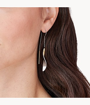 Kariana Two-Tone Stainless Steel Earrings