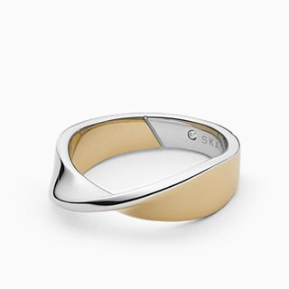 Kariana Two-Tone Stainless Steel Ring