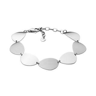 Agnethe Silver-Tone Stainless Steel Bracelet