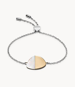 Agnethe Two-Tone Mother-of-Pearl Bracelet