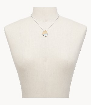 Agnethe Two-Tone Mother-of-Pearl Necklace