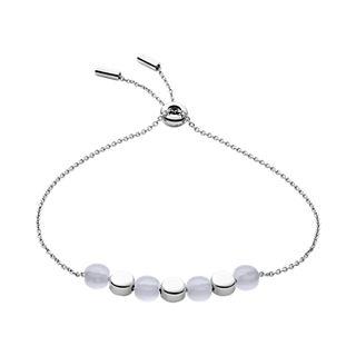Ellen Silver-Tone Stainless Steel Bracelet