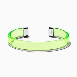 Blakely Transparent Green Lucite Bracelet