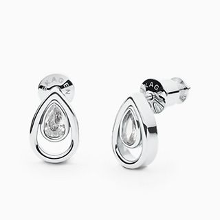 Elin Silver-Tone Stainless Steel Earrings