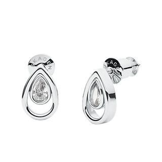 Elin Silver-Tone Stainless Steel Earrings