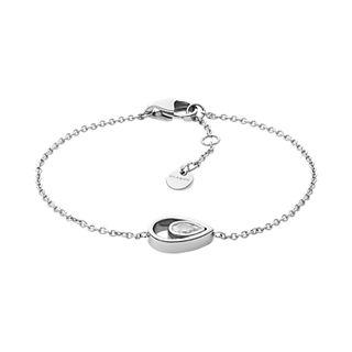Elin Silver-Tone Stainless Steel Bracelet