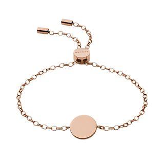 Elin Rose-Tone Stainless Steel Bracelet