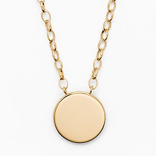 Elin Gold-Tone Stainless Steel Necklace