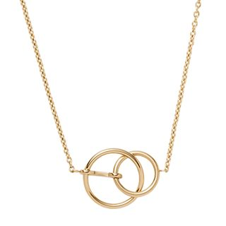 Elin Gold-Tone Stainless Steel Pendant Necklace