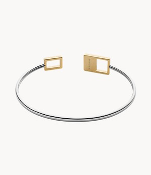 Agnethe Two-Tone Mother-of-Pearl Bangle