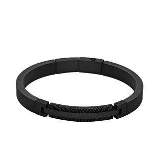 Kring Black Mesh Bracelet