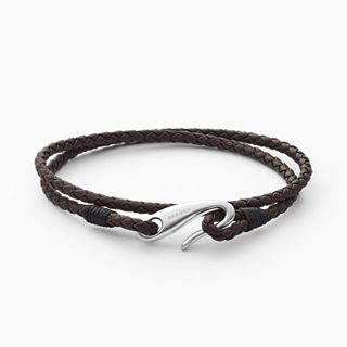 Hulsten Brown Leather Bracelet