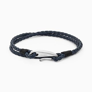 Hulsten Blue Leather Bracelet
