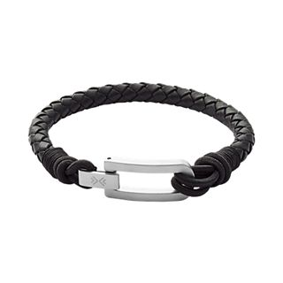 Hulsten Black Leather Bracelet