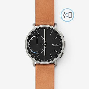 REFURBISHED Hybrid Smartwatch - Hagen Titanium and Tan Leather