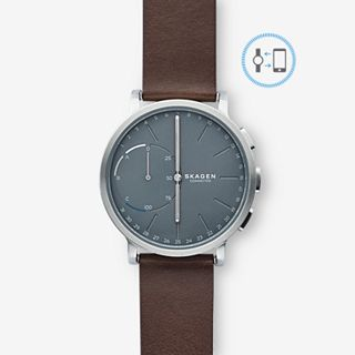 GENERALÜBERHOLT Hagen Connected Hybrid Smartwatch - Leder