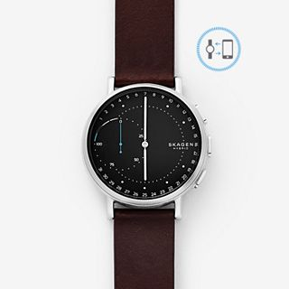 GENERALÜBERHOLT Signatur Connected Hybrid Smartwatch - Leder