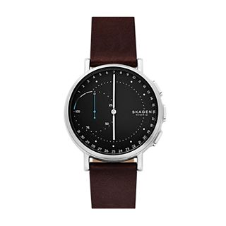 Hybrid Smartwatch - Signatur Dark Brown Leather