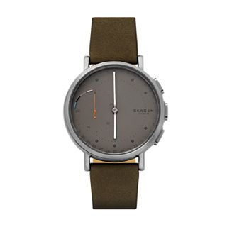 Hybrid Smartwatch - Signatur Green Leather