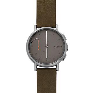 Hybrid Smartwatch - Signatur Green Leather