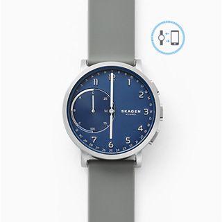 REFURBISHED Hybrid Smartwatch - Hagen Silver Silicone
