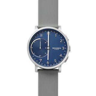 Hybrid Smartwatch - Hagen Silver Silicone