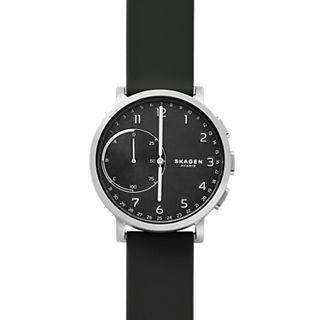 Hybrid Smartwatch Hagen - Silikon - Schwarz