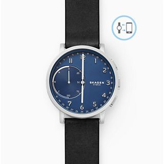 REFURBISHED Hybrid Smartwatch - Hagen Black Leather