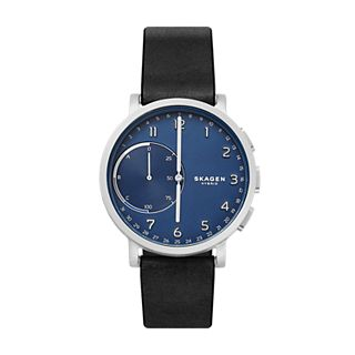 Hybrid Smartwatch - Hagen Black Leather