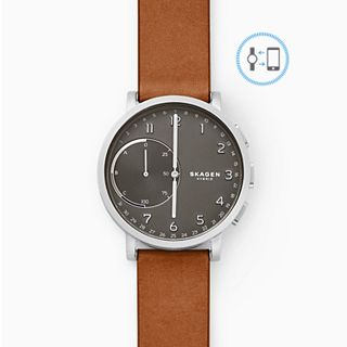 REFURBISHED Hybrid Smartwatch - Hagen Brown Leather