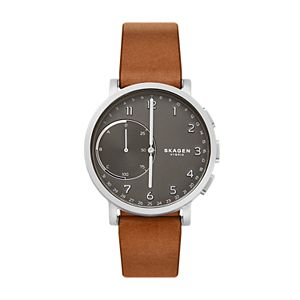 Hybrid Smartwatch - Hagen Brown Leather